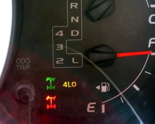 4 Wheel Drive Light Blinking & Not Engaging