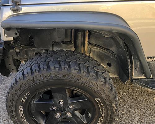 All Terrain tires on a Four Wheel drive