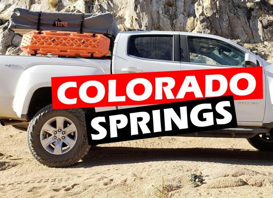 Chev Colorado Max Tires on Stock Suspension