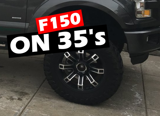 What Size Lift for 35 Inch Tires F150 - FITMENT GUIDE ...