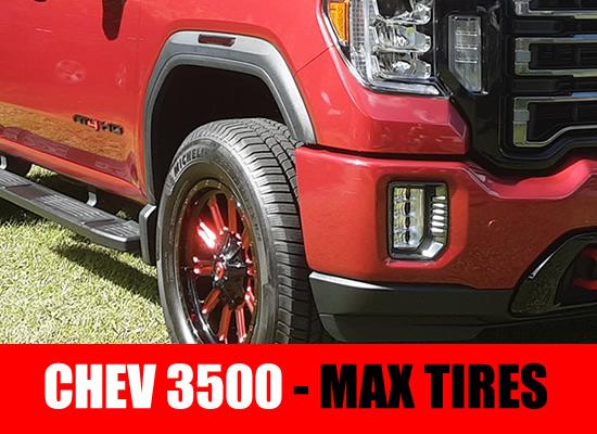 Duramax 3500 max tires