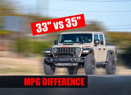 33 vs 35 mpg gas mileage